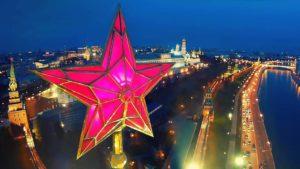 Вид на Кремль с квадрокоптера