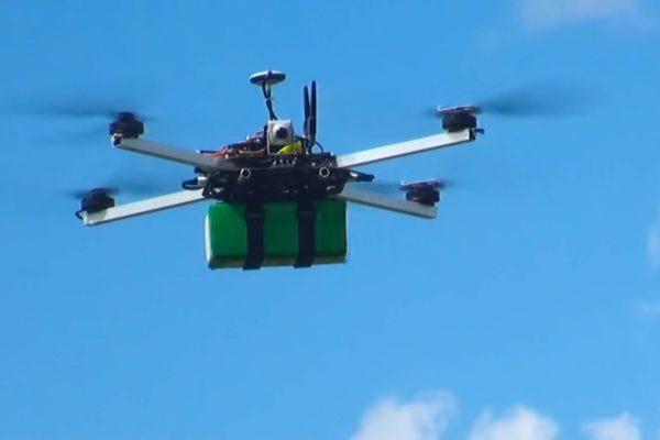 Посадка квадрокоптер долголёт DS600 фото