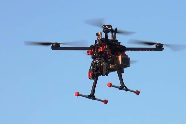 квадрокоптер долголёт DS600 с тепловизором FLIR