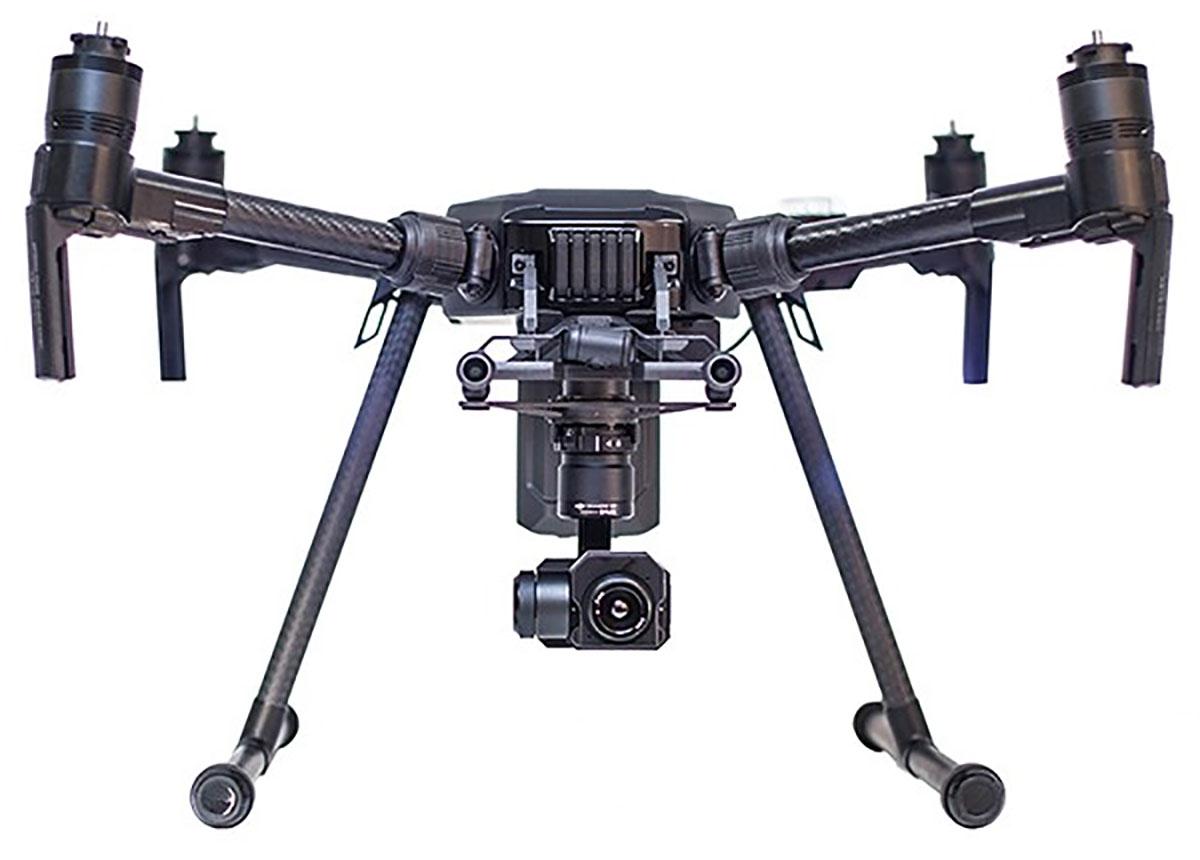 фото DJI Matrice 200 с Zenmuse XT без воздушных винтов